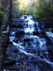 New Minnehaha cascade
