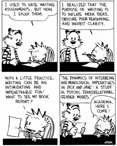 calvin-writing