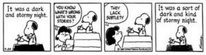 Snoopy strip