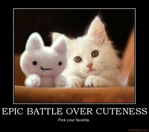 epic battle cuteness