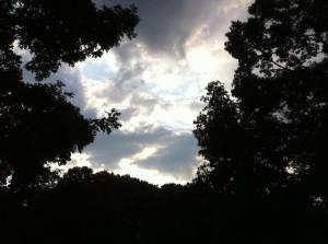 clouds dusk