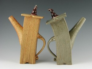 HF Pottery tea pots