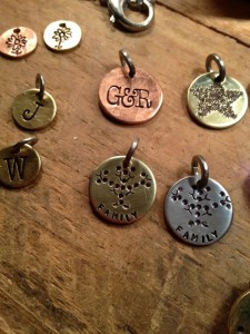 hh stamped variety charms