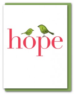 hope with birds