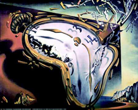 dali melting clock
