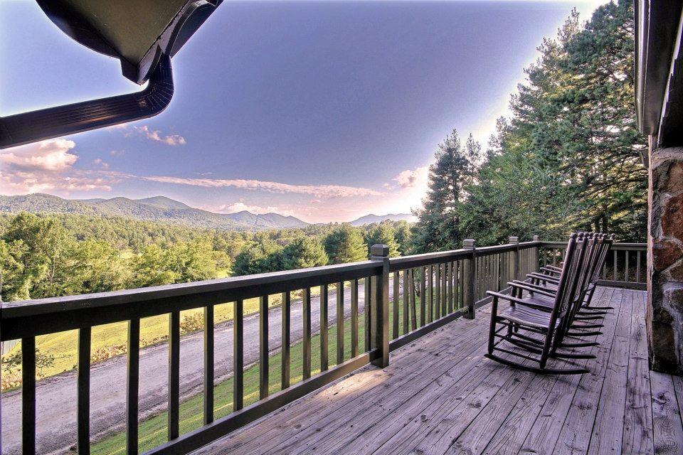 Dillard House Porch Mountain Views