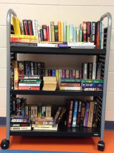 library cart sample