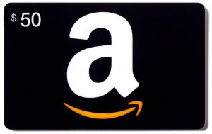 Amazon Gift Card 50 dollar